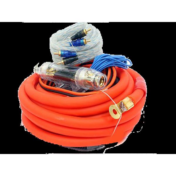 Powerbass 0-Gauge Car Audio Wiring Kit