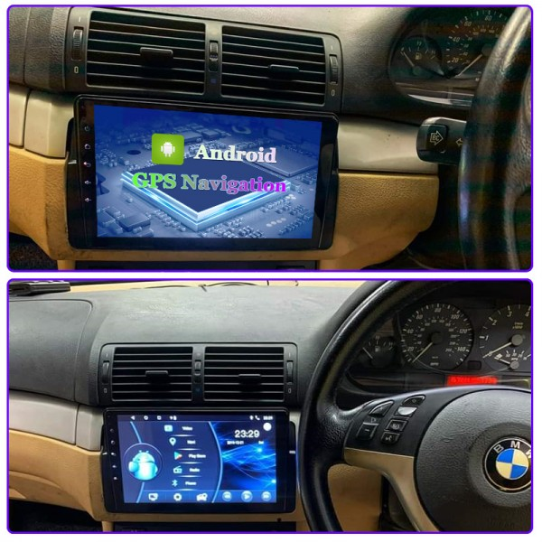 BMW E46 3 Series  M3 1999 - 2005 9 Inch Android Sa...