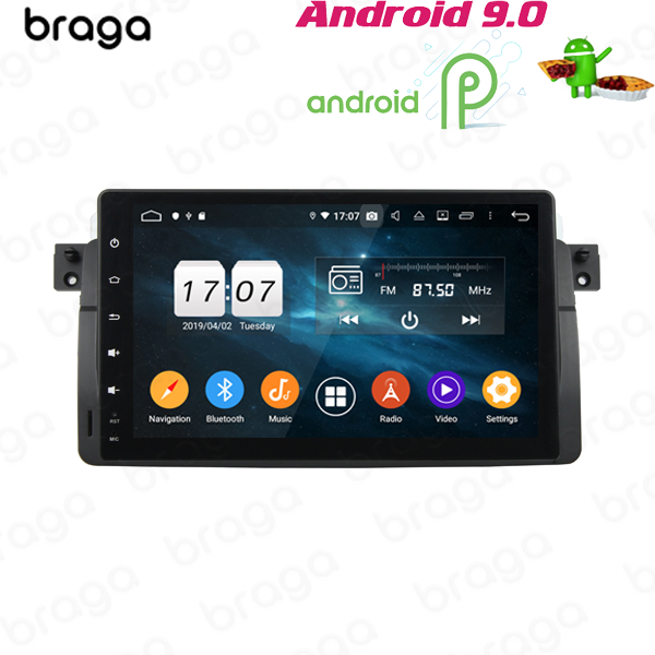BMW 3 SERIES M3 E46 1998 - 2006 9 INCH ANDROID SATNAV RADIO CAR AUDIO SOUND SYSTEM