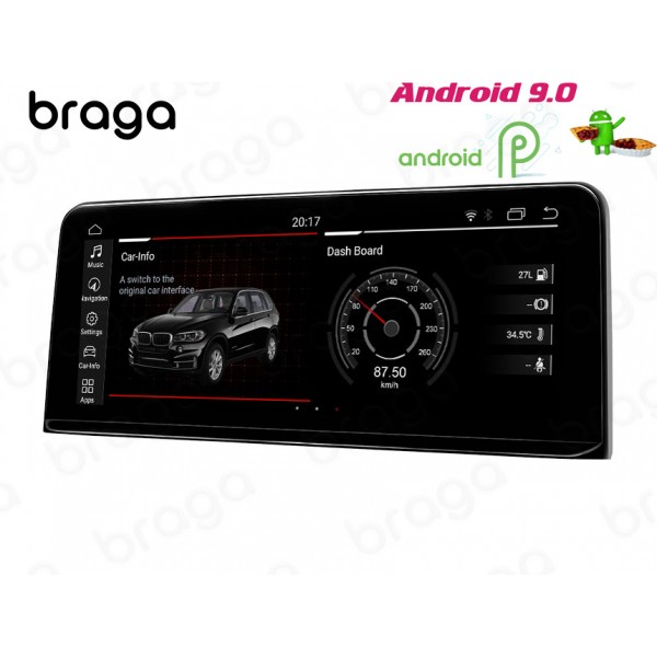 BMW 3/4 SERIES F30/F31/F34/F35 2013 - 2017 Android...