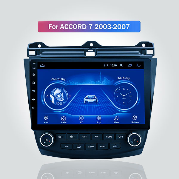 Honda Accord 7 2003 - 2007 10.1 Inch Android Satna...