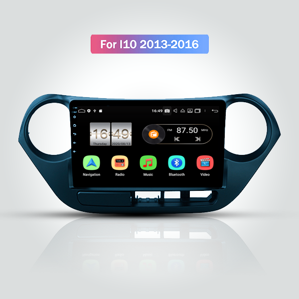 Hyundai I10 2013 - 2016 9 Inch Android Satnav Radio Car Audio Sound System