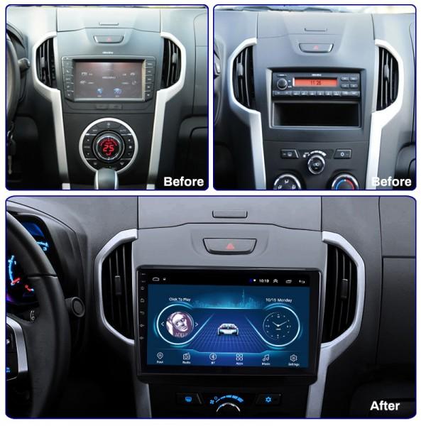 Isuzu KB DMAX 2012 - 2018 Android Satnav Radio Car...