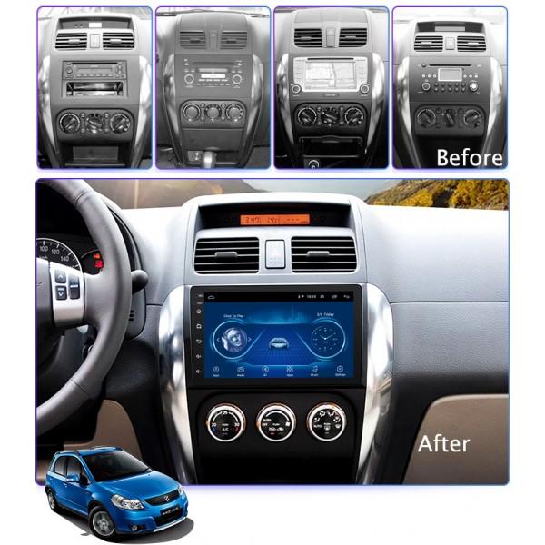 Suzuki SX4 2006 - 2014 9 Inch Android Satnav Radio...
