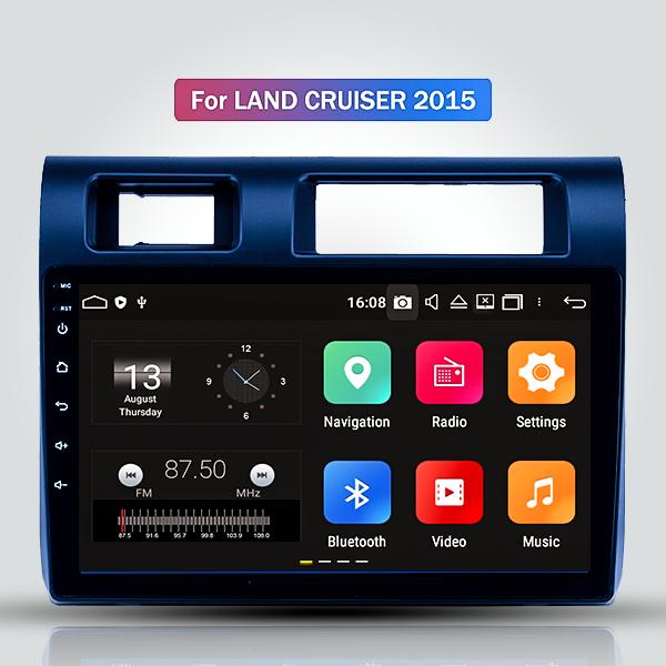 Toyota Land Cruiser 79 2015 - 2019 10.1 Inch Android Satnav Radio Car Audio Sound System