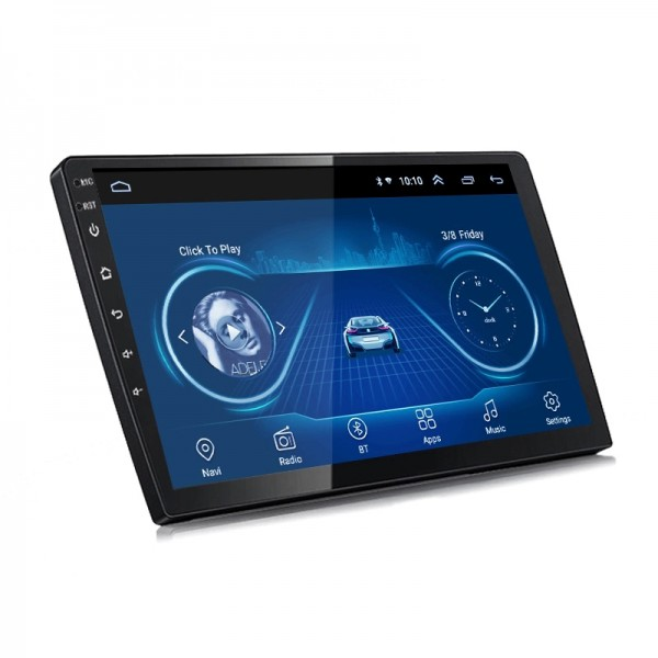 2 Din Android 8.1 10 Inch CAR NAVIGATION Multimedi...
