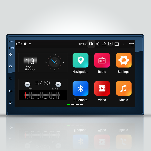 Double Din Android Radio 7 Inch Navigation Radio T...